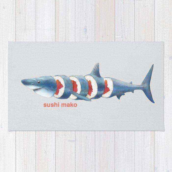 Sushi Mako (color option) Rug