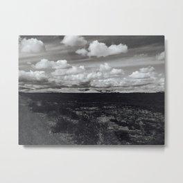 'Valley Clouds #2' Metal Print