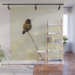 Hummingbird Wall Mural
