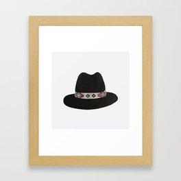 B L A C K H A T Framed Art Print