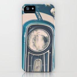 Blue Classic Camaro iPhone Case