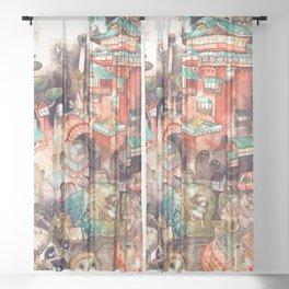 Spirited Away Sheer Curtain