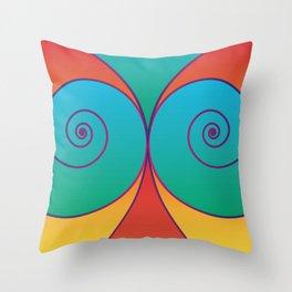 Swirly pretty thingies of goodness Throw Pillow