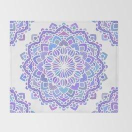 Mandala 01 Throw Blanket