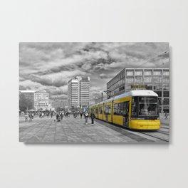 Berlin Alexanderplatz II Metal Print