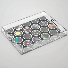 Petri Dish Acrylic Tray