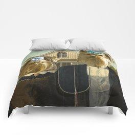 American Yorkies Comforters