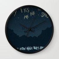 alabama Wall Clocks featuring ALABAMA SHAKES by Josh LaFayette
