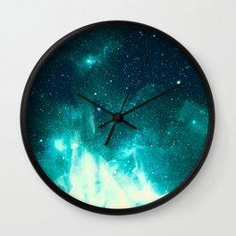 Spirit Nebula Wall Clock