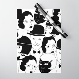 20s Glam Wrapping Paper
