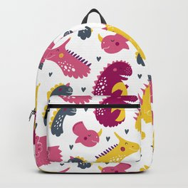 Nursery bundle cute dinosaurs Backpack