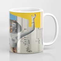 postcard Mugs featuring Postcard #29 by Jon Duci