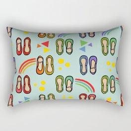 ballet and rainbows Rectangular Pillow