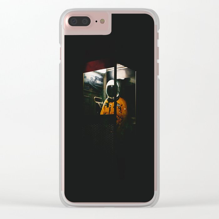 Phone Booth Clear iPhone Case