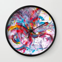 Rainbow Flow Wall Clock