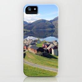 Norway Fjords - Greg Katz iPhone Case