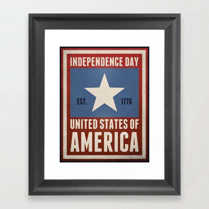 Independence Day Framed Art Print