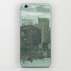 cutting through iPhone & iPod Skin