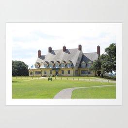 Whalehead Mansion Art Print