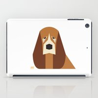 the hound iPad Cases featuring Basset Hound by Page 84 Design
