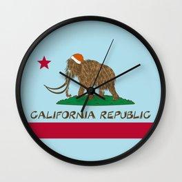 California Republic Mammoth Wall Clock