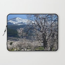"""Flowering Almonds"". At The Mountains Laptop Sleeve"
