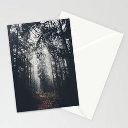 Dark paths Stationery Cards