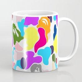 B APE colorful pattern Coffee Mug