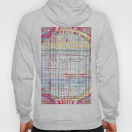The System - pink motif Hoody