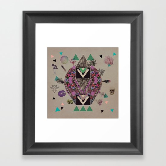 LUSCIOUS INSANITY Framed Art Print