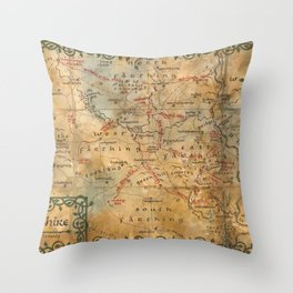 TheShire Throw Pillow