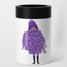 Really Really Really Fuckin Cold (Purple) Can Cooler