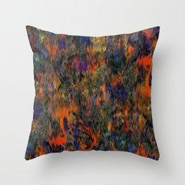 Rain of Colour Shades Throw Pillow