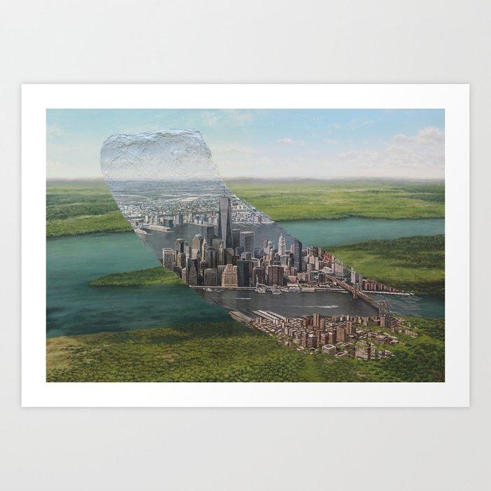 Human Nature - Brushstrokes in Time Art Print