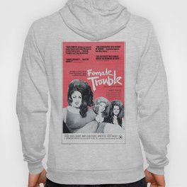 Vintage Female Trouble Movie Poster Hoody