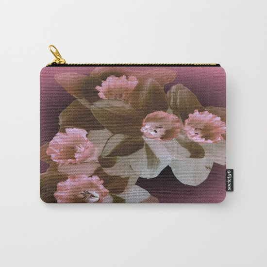Enchanted Daffodils Carry-All Pouch