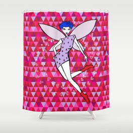 """Tria"" Fairy Shower Curtain"