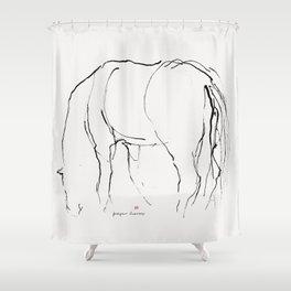Horse (Pasturing) Shower Curtain