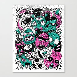 Monster Mash Canvas Print