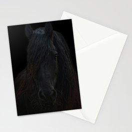 Frisian Stallion Stationery Cards