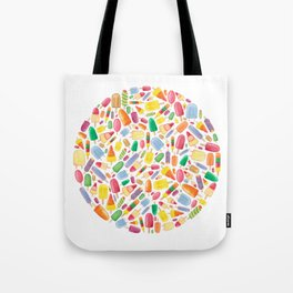 Ice Lolly.  Tote Bag