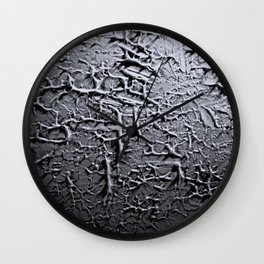 Plastered Wall Clock