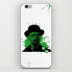 Breaking Bad Green iPhone & iPod Skin