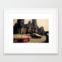 mexico Framed Art Prints featuring mexico by petervirth photography