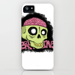 BRAAAINZ iPhone Case