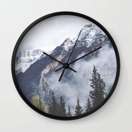 Mount Wanderlust Wall Clock