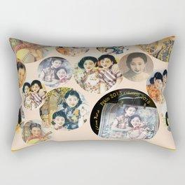 Beijing 6576 Asian vintage atmosphere with women Rectangular Pillow