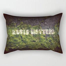Music Matters Rectangular Pillow