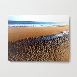 Ocracoke Beach Metal Print