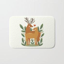 Deer Love Bath Mat
